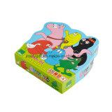 Подгоняйте коробку подарка печатание головоломки малышей упаковывая бумажную форменный
