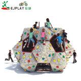A China a fabricação de plástico Comercial Kids muro de escalada em rocha