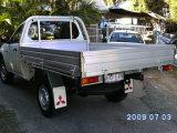 Camion léger en aluminium/aluminium organes