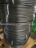 Boyau hydraulique à haute pression tressé R3 de fibre non métallique