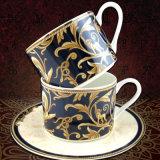 中国のコーヒーカップの受皿のギリシャ神話のカップ・アンド・ソーサー一定のイギリスの陶磁器の紅茶の午後のコーヒー