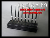 Alto potere 8-CH Mobile Phone Signal Jammer per Cars