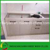Preiswerter moderner Melamin-Tür-Küche-Schrank für Qualität