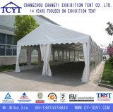 Grande tente transparente extérieure d'événement de célébration de noce