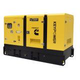 generatore diesel insonorizzato 100kVA con il pannello di controllo di alto mare