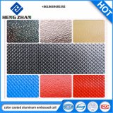 Decorative Material를 위한 1100 선반 Finish Embossed Color Coated Aluminum Coil