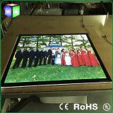 カスタム結婚式のゆとりの水晶LEDのライトボックス