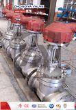 Soupape industrielle de pignon conique de bâti de la norme ANSI 600lb