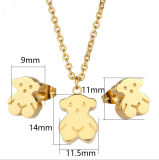 Edelstahl Necklace Fashion Jewelry Sets (hdx1077)