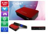 Коробка Ipremium TV он-лайн TV с H. расшифровывать и незанятые каналы 265