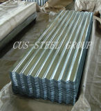 Qualità principale ondulata galvanizzata coprendo le mattonelle di tetto dell'onda di acqua di Sheet/Gi