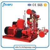 Pomp van de Brand van de Brandbestrijding de Gebruikte UL Vermelde Dieselmotor Verpakte met de Prijs van de Fabriek