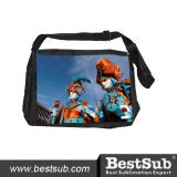 Saco de ombro Printable do grande Sublimation preto de Bestsub (KB01)
