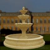 Натурального мрамора фонтан для сада декоративные