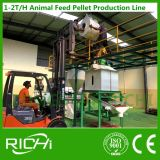 Máquina de processamento da alimentação animal das aves domésticas do Ce 1-2t/H da produção da fábrica de Henan