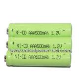 Batería recargable 1.2V AAA 500mAh NiCd