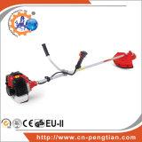 Gasolina 31CC cortador de cepillo con la curva del eje de Trabajo