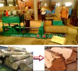 Máquina de madeira horizontal portátil do divisor da madeira da floresta