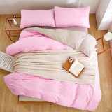 熱い販売のホーム寝具の平野のMicrofiberファブリック慰める人カバーセット