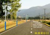 3 años de alta calidad de la garantía 6W del panel solar LED de luz de calle