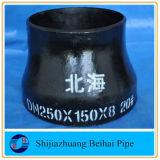 Réducteur concentrique ASME B16.9 de l'acier du carbone d'A420 Wpl6 Sch40