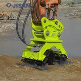 Marque Dlk hydraulique pelle excavatrice plaque vibrante pour compacteur 4-30tonnes