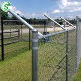 Maillon de chaîne de feux de croisement galvanisé à chaud avec bras de clôtures de barbelés