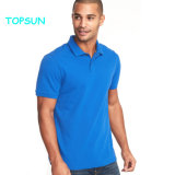 Men's Solid Color Polo Shirt Fashion col polo T Shirt Design
