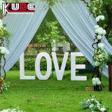 LED de mudança de cor do amor de casamento cartas letras do alfabeto inglês