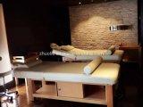 Luxe Beauty Salon meubilair draagbare houten SPA Gezichtsmassage Bedtafel met kast voor salon