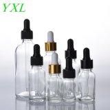 Transparent 5-100 ml Huile essentielle de la tête de la paille Sub-Bottle Soft mamelon de l'huile de conditionnement bouteille suceurs cosmétique compte-gouttes pour faire correspondre le verre bouteille vide