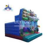 Inflatable Bouncer Combo thème Animal château avec la diapo pour Kid