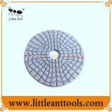 1#2#3# numéro seulement, de la pierre de granit, outil de polissage en marbre, une utilisation mouillée Tampon de polissage de diamants