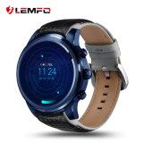 Androïde GPS Smartwatch van WiFi Bluetooth van Lemfo Lem5 PRO3G Telefoon Heartrate met Opslag 2g+16g