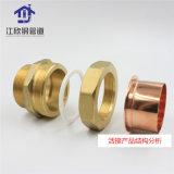 Connecteur en laiton Dzr la tuyauterie du distributeur de raccords de tuyauterie en cuivre union mâle