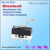Мини-Микровыключателя роликовый рычаг 3A для электрических устройств для медицинского оборудования машин