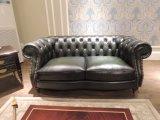 流行および典型的な型の革ソファー(A29)