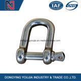 La goccia dell'acciaio inossidabile ha forgiato l'anello di trazione di ancoraggio di Pin della vite per sartiame