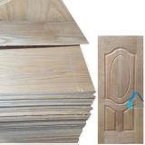 Hoja moldeada de las puertas de la madera contrachapada con la hoja de la piel de la puerta de madera sólida
