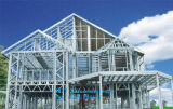 새로운 디자인 중국에 있는 우량한 조립식 가벼운 강철 구조물 별장 집
