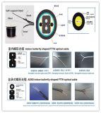 Máquina de fibra óptica de la protuberancia del estirador del cable del cable de gota de FTTH