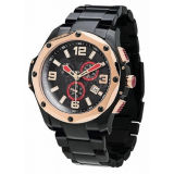 Relógio do esporte do aço inoxidável dos homens do relógio do esporte da alta qualidade (HL-CD059)