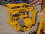 Maquinaria dos tijolos da cinza de mosca com grupo da maquinaria das rodas Qt40-3A Dongyue