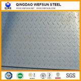 Placa de aço Checkered da gota do rasgo da boa qualidade