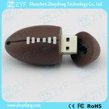 Movimentação feita sob encomenda do flash do USB da forma do rugby para o presente (ZYF5045)