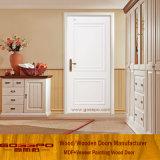 Porte de placage en MDF blanc de qualité supérieure design moderne (GSP8-039)