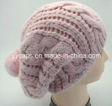 pink Knitting Caps (YYCM-120382) 숙녀