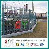 Загородка Ornamental пикетчика PVC ограждать пикетчика пластичная