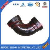 Di Fittings, schwarzes Eisen-Rohrfittings für Wasserversorgung