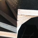 A película do engranzamento de fio do preto da classe da construção 1220*2440 do preço 18mm enfrentou a madeira compensada